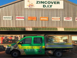 Zincover D.I.Y. cc | Postmasburg Building & Hardware Store